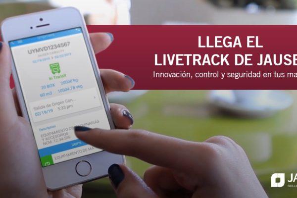 Livetrack de Jauser. Innovación, control y seguridad en tus manos